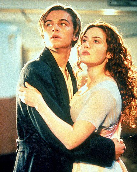 The REAL Leonardo DiCaprio in Titanic alongsie Kate Winslet