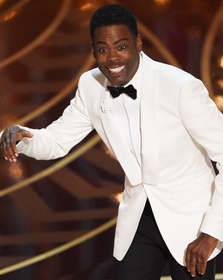 Actor Chris Rock used his opening monologue to address the issue