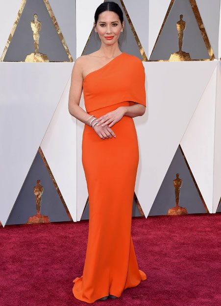 Olivia Munn blows everyone away in orange
