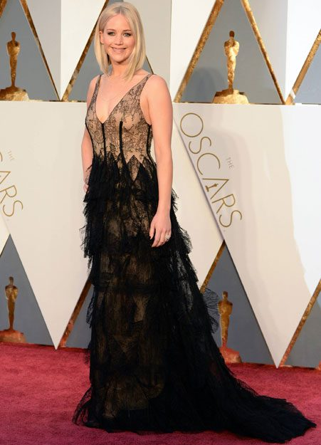 Jennifer Lawrence looks amazing