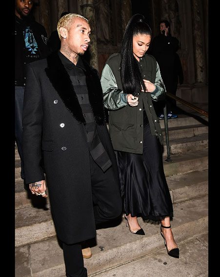 Kylie and Tyga look as loved up as ever