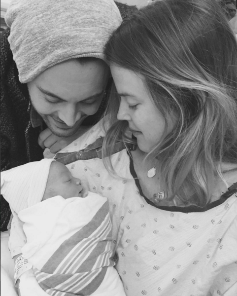 Jack Huston's girlfriend Shannan Click has given birth