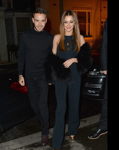 Cheryl and Liam Payne coordinate their outfits on a date in London