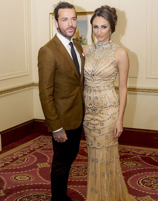Megan McKenna and Pete Wicks filmed TOWIE scenes together this week
