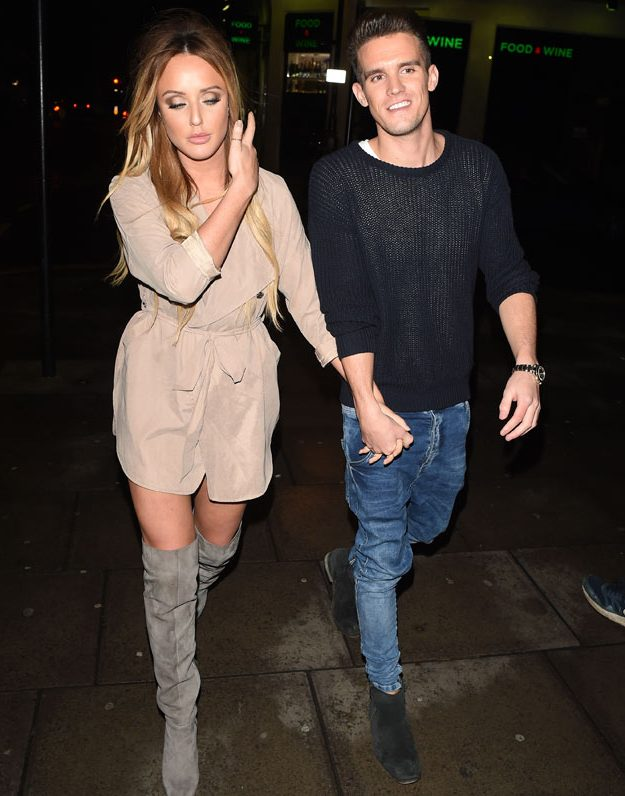 Charlotte and Gaz are back together and 'hotter than ever'