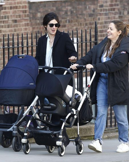 Amelia sparked baby rumours after she was spotted pushing a stroller