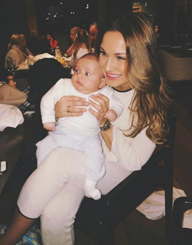 Sam Faiers shared a hilarious picture of her son
