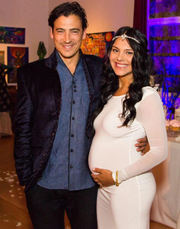 Andrew Keegan and Arista Ilona have become parents for the first time [Jessica Eriksen/Three Moons Imaging