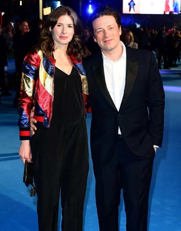 Jools and Jamie Oliver stepped out for the Eddie the Eagle premiere