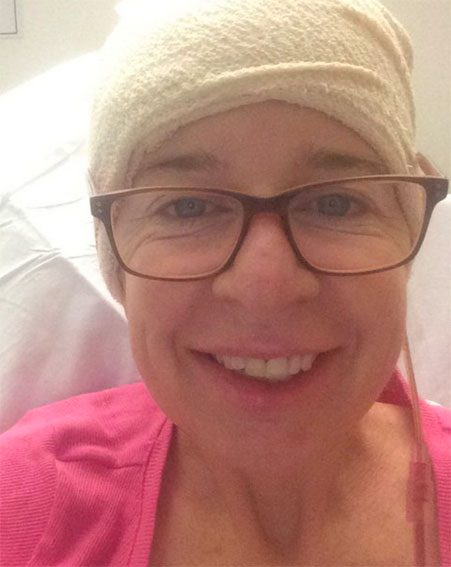 Katie Hopkins shared a picture from hospital