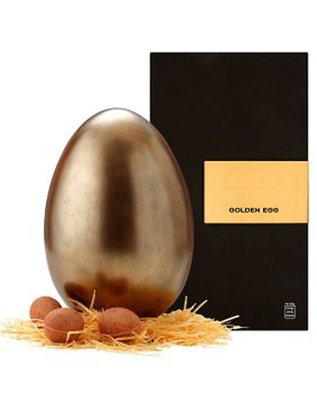 A golden Easter egg is what big kids dream of at Easter