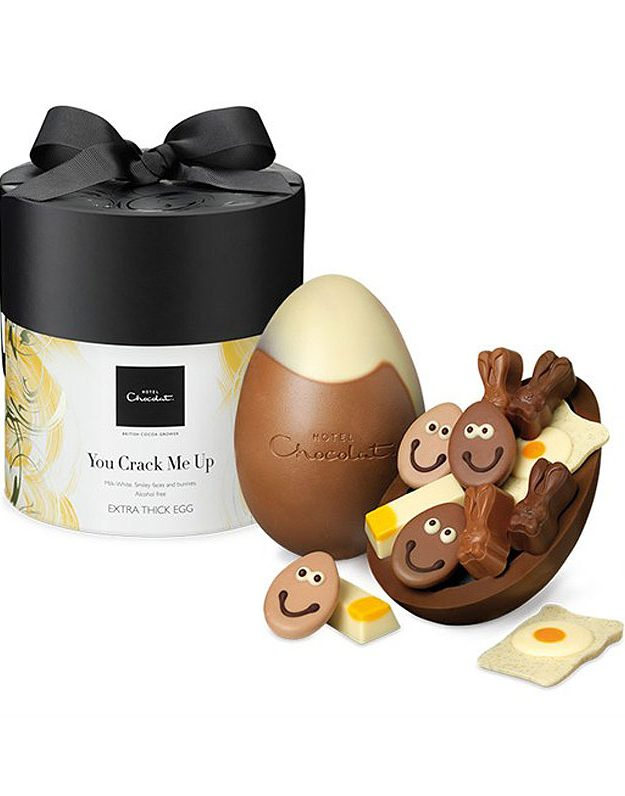 Hotel Chocolat have of course got all bases covered this Easter