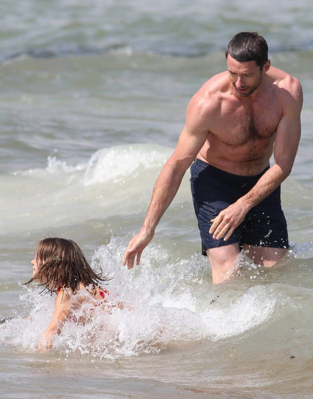Hugh Jackman had returned to Australia the day before, after promoting his latest movie, Eddie the Eagle