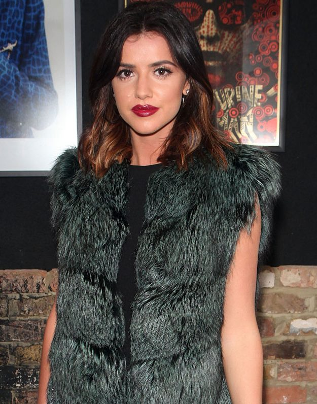 Lucy Mecklenburgh has spoken about her split from Louis Smith